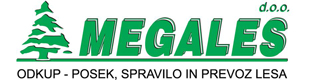 MEGALES - odkup in transport lesa
